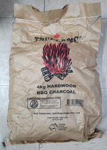 Load image into Gallery viewer, 4kg Bag Hardwood Lump Charcoal