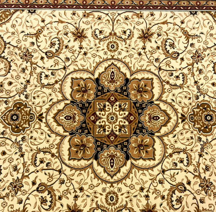 Plaza 1658 Cream, Red  Beautiful Quality Design from Turkey