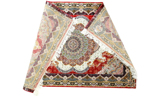 A Red Persian Satrapy with 1 million knots sqm 1st grade design 2960 Red