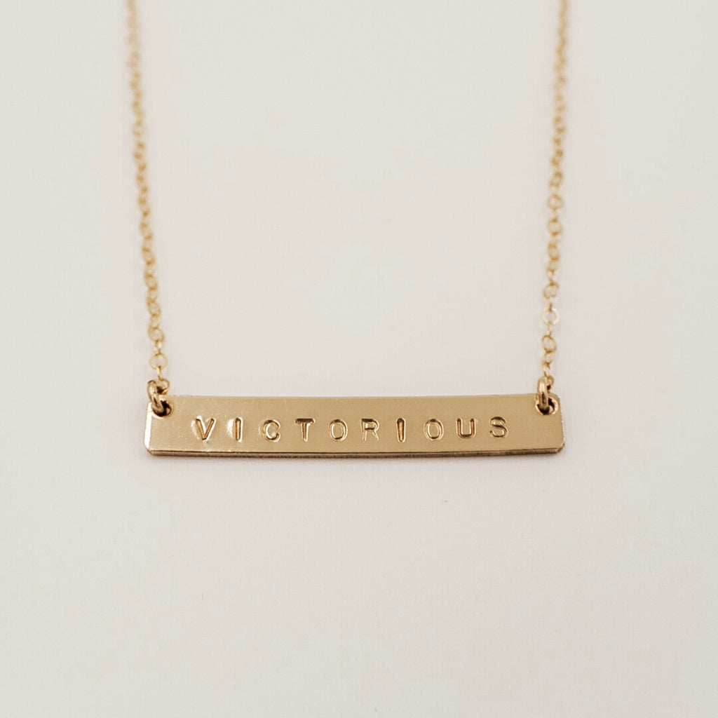 "1 1/4"" Bar Necklace"