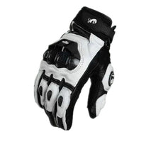 Load image into Gallery viewer, Leather Motorcycle Gloves Motocross