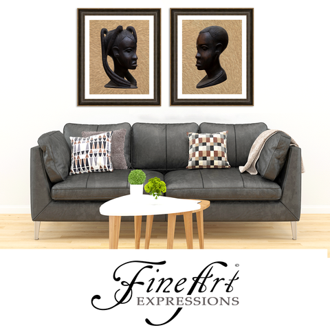 Fine Art Expressions - African Heritage 1 & 2