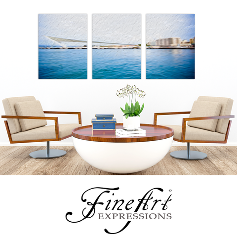 Fine Art Expressions - At the Pier in  San Juan, Puerto Rico
