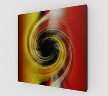 "Load image into Gallery viewer, ""Spatial Gateway Series: Temporal Vortex 3"" Fine Art Canvas"