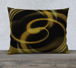 """Dimensional Paradox 3"" 26""x20"" Fine Art Pillowcase"
