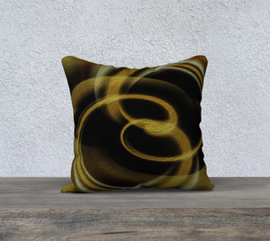 """Dimensional Paradox 4"" 18""x18"" Fine Art Pillowcase"
