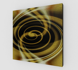 """Spatial Gateway Series: Dimensional Paradox 5"" Fine Art Canvas"