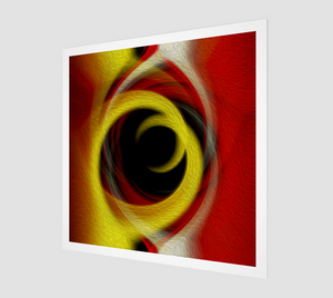 """Spatial Gateway Series: Temporal Vortex 5"" Fine Art Print"