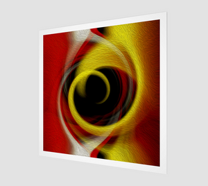 """Spatial Gateway Series: Temporal Vortex 4"" Fine Art Print"