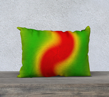 "Load image into Gallery viewer, ""Rasta Vibes 1"" - LT 20""x14"" Fine Art Pillow Case"