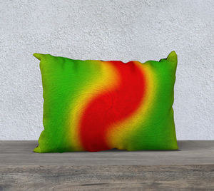 """Rasta Vibes I"" - LT 20""x14"" Fine Art Pillow Case"