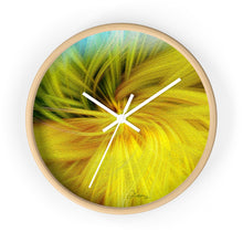 "Load image into Gallery viewer, ""Whimsical Twirl"" 10"" Fine Art Wall Clock"