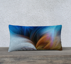 """Convergence 2"" 24""x12"" Fine Art Pillow Case"