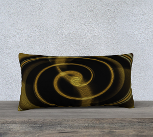 """Dimensional Paradox 2"" 24""x12"" Fine Art Pillowcase"