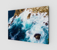 "Load image into Gallery viewer, ""Cliffs in Acapulco II"" Fine Art Canvas"