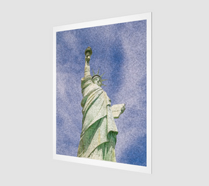 """Lady Liberty"" Fine Art Giclée Print"
