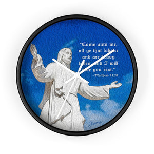 """Come Unto Me"" 10"" Fine Art Wall Clock"