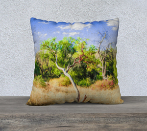 """A Place of Serenity III"" 22""x22"" Fine Art Pillow Case"