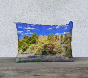 """A Place of Serenity 2"" 20""x14"" Fine Art Pillow Case"