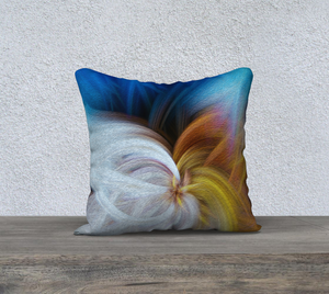 """Convergence 2"" 18""x18"" Fine Art Pillow Case"