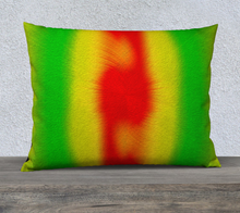 "Load image into Gallery viewer, ""Rasta Vibes 5"" - CB 26""x20"" Fine Art Pillow Case"