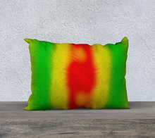 "Load image into Gallery viewer, ""Rasta Vibes 5"" - CB 20""x14"" Fine Art Pillow Case"