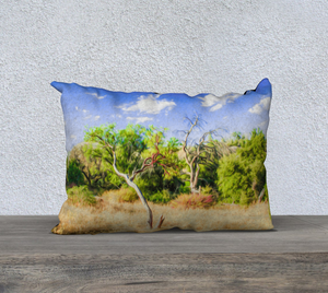 """A Place of Serenity 3"" 20""x14"" Fine Art Pillow Case"