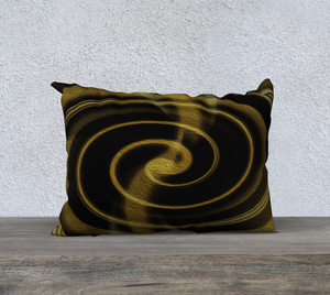 """Dimensional Paradox 1"" 20""x14"" Fine Art Pillowcase"