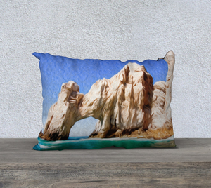 """El Arco de Cabo San Lucas, Mexico"" 20""x14"" Fine Art Pillow Case"