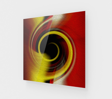 "Load image into Gallery viewer, ""Spatial Gateway Series: Temporal Vortex 8"" Fine Art Acrylic Print"