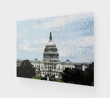 "Load image into Gallery viewer, ""US Capitol Building"" Fine Art Acrylic Print"