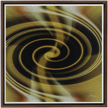 Load image into Gallery viewer, Dimensional Paradox 1 Framed Fine Art Canvas (G)