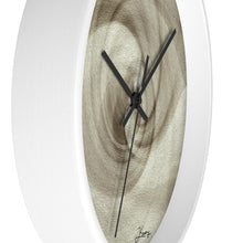 "Load image into Gallery viewer, ""Spiral of Light"" 10"" Fine Art Wall Clock"