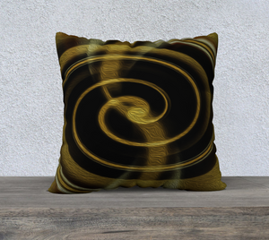 "Spatial Gateway Series: Dimensional Paradox 2 22""x22"" Fine Art Pillowcase"