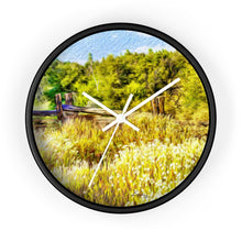 "Load image into Gallery viewer, ""A Place of Serenity 1"" 10"" Fine Art Wall Clock"