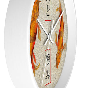 """Asian Reflections 8"" 10"" Fine Art Wall Clock"