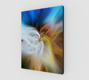 """Convergence II"" Fine Art Canvas"