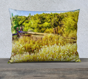 """A Place of Serenity I"" 26""x20"" Fine Art Pillow Case"
