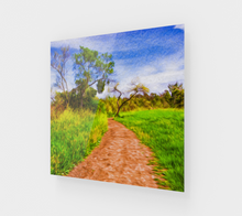"Load image into Gallery viewer, ""The Path that Lies Ahead II"" Fine Art Acrylic Print"
