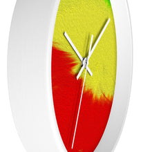 "Load image into Gallery viewer, ""Rasta Sensation 1"" 10"" Fine Art Wall Clock"