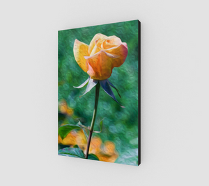 """Rose Prominence II"" Fine Art Canvas"