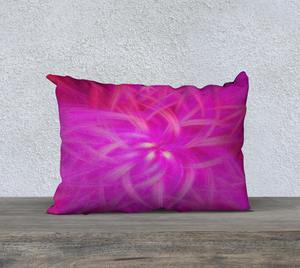 """Floral Imprint"" 20""x14"" Fine Art Pillow Case"
