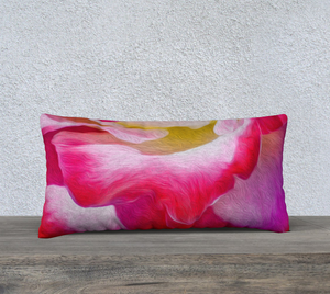 """Never Ending Layers"" 24""x12"" Fine Art Pillow Case"