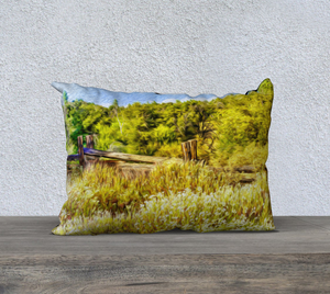 """A Place of Serenity I"" 26""x14"" Fine Art Pillow Case"