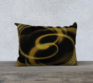 """Dimensional Paradox 3"" 20""x14"" Fine Art Pillowcase"