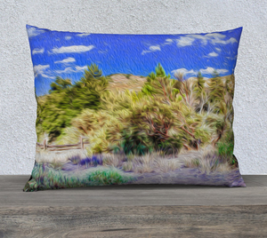 """A Place of Serenity 2"" 26""x20"" Fine Art Pillow Case"