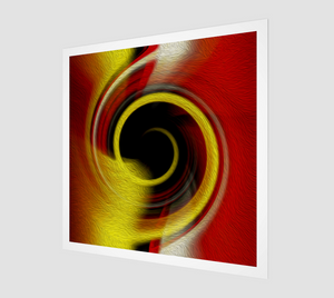 """Spatial Gateway Series: Temporal Vortex 8"" Fine Art Print"