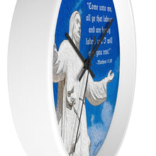 "Load image into Gallery viewer, ""Come Unto Me"" 10"" Fine Art Wall Clock"