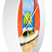 "Load image into Gallery viewer, ""Tranquil Surroundings"" - Manzanillo, Colima 10"" Fine Art Wall Clock"