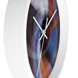 """Color Dissonance 1"" 10"" Fine Art Wall Clock"
